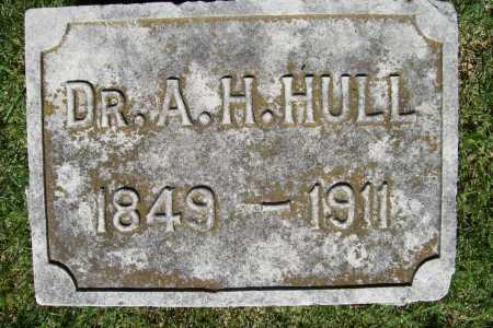 HULL, A. H. - Benton County, Arkansas | A. H. HULL - Arkansas Gravestone Photos