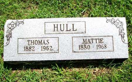 HULL, MATTIE - Benton County, Arkansas | MATTIE HULL - Arkansas Gravestone Photos