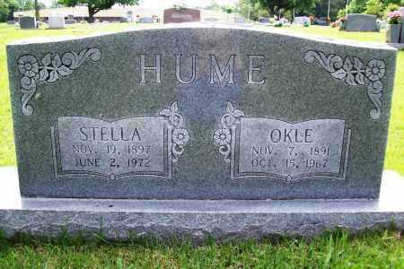HUME, OKLE - Benton County, Arkansas | OKLE HUME - Arkansas Gravestone Photos