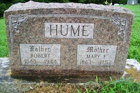 HUME, MARY F. - Benton County, Arkansas | MARY F. HUME - Arkansas Gravestone Photos