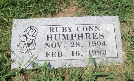 CONN HUMPHRES, RUBY - Benton County, Arkansas | RUBY CONN HUMPHRES - Arkansas Gravestone Photos