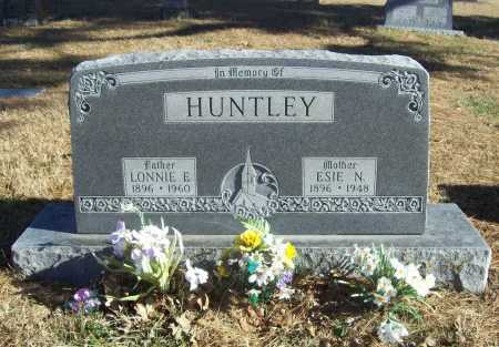 HUNTLEY, ESIE N. - Benton County, Arkansas | ESIE N. HUNTLEY - Arkansas Gravestone Photos