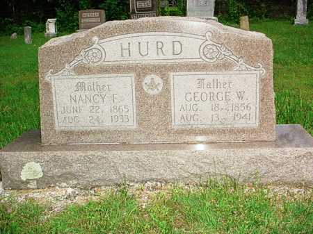 HURD, GEORGE W. - Benton County, Arkansas | GEORGE W. HURD - Arkansas Gravestone Photos