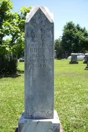 HURLEY, WALTER - Benton County, Arkansas | WALTER HURLEY - Arkansas Gravestone Photos