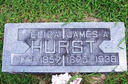 HURST, ELIZA - Benton County, Arkansas | ELIZA HURST - Arkansas Gravestone Photos