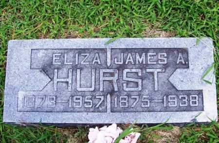 HURST, ELIZA - Benton County, Arkansas | ELIZA HURST - Arkansas Gravestone Photos