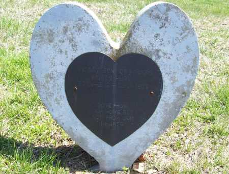 HURT, INFANT SON - Benton County, Arkansas | INFANT SON HURT - Arkansas Gravestone Photos