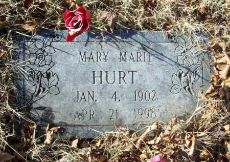 HURT, MARY MARIE - Benton County, Arkansas | MARY MARIE HURT - Arkansas Gravestone Photos