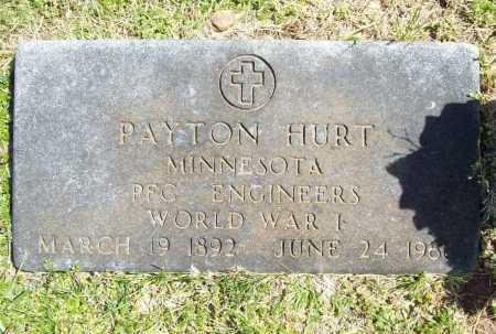 HURT (VETERAN WWI), PAYTON - Benton County, Arkansas | PAYTON HURT (VETERAN WWI) - Arkansas Gravestone Photos