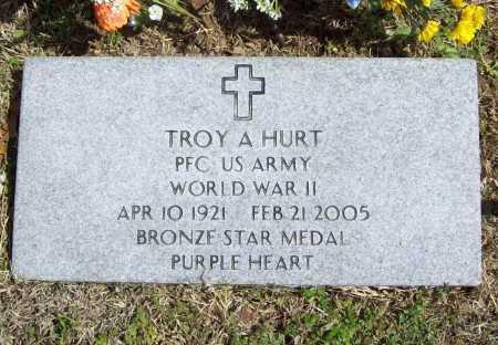 HURT (VETERAN WWII), TROY AL - Benton County, Arkansas | TROY AL HURT (VETERAN WWII) - Arkansas Gravestone Photos