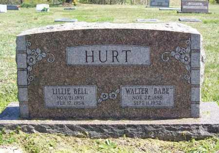 "HURT, WALTER ""BABE"" - Benton County, Arkansas 