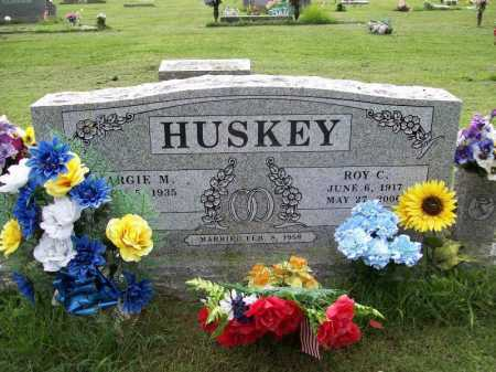 HUSKEY, ROY C. - Benton County, Arkansas | ROY C. HUSKEY - Arkansas Gravestone Photos