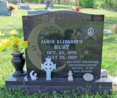 HUST, JAMIE ELIZABETH - Benton County, Arkansas | JAMIE ELIZABETH HUST - Arkansas Gravestone Photos