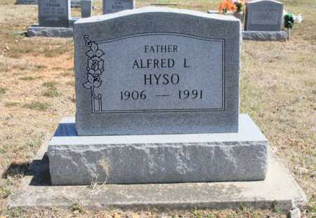 HYSO, ALFRED L. - Benton County, Arkansas | ALFRED L. HYSO - Arkansas Gravestone Photos