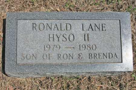 HYSO, RONALD LANE II - Benton County, Arkansas | RONALD LANE II HYSO - Arkansas Gravestone Photos
