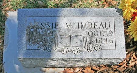 IMBEAU, LESSIE M - Benton County, Arkansas | LESSIE M IMBEAU - Arkansas Gravestone Photos