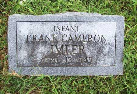 IMLER, FRANK CAMERON - Benton County, Arkansas | FRANK CAMERON IMLER - Arkansas Gravestone Photos