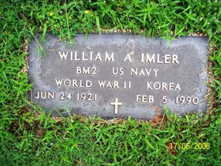 IMLER (VETERAN 2 WARS), WILLIAM A. - Benton County, Arkansas | WILLIAM A. IMLER (VETERAN 2 WARS) - Arkansas Gravestone Photos