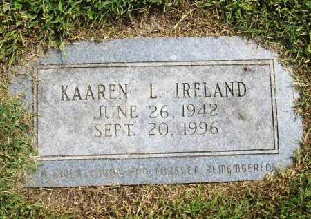 IRELAND, KAAREN L. - Benton County, Arkansas | KAAREN L. IRELAND - Arkansas Gravestone Photos
