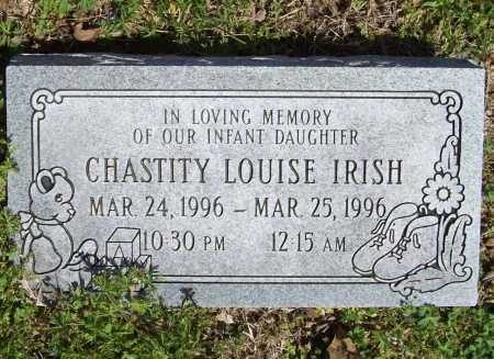 IRISH, CHASTITY LOUISE - Benton County, Arkansas | CHASTITY LOUISE IRISH - Arkansas Gravestone Photos