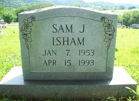 ISHAM, SAM J. - Benton County, Arkansas | SAM J. ISHAM - Arkansas Gravestone Photos