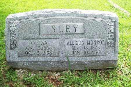 ISLEY, ALLISON MONROE - Benton County, Arkansas | ALLISON MONROE ISLEY - Arkansas Gravestone Photos