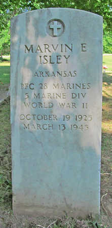 ISLEY (VETERAN WWII), MARVIN E - Benton County, Arkansas | MARVIN E ISLEY (VETERAN WWII) - Arkansas Gravestone Photos