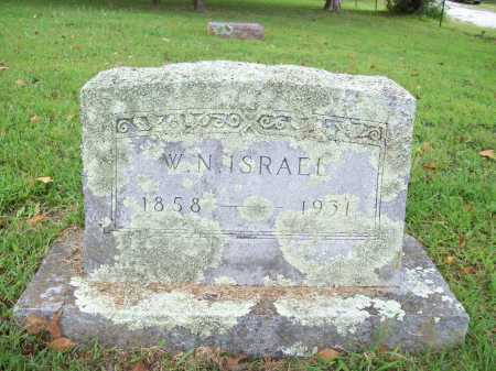 ISRAEL, W. N. - Benton County, Arkansas | W. N. ISRAEL - Arkansas Gravestone Photos