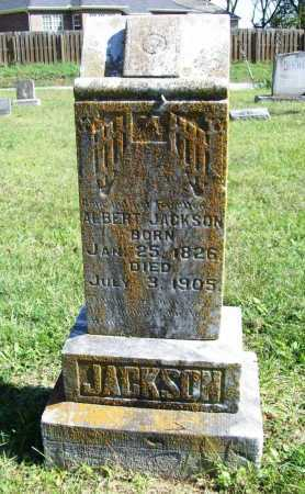 JACKSON, ALBERT - Benton County, Arkansas | ALBERT JACKSON - Arkansas Gravestone Photos