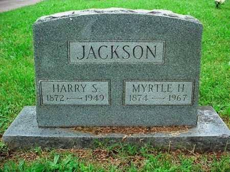 JACKSON, MYRTLE H. - Benton County, Arkansas | MYRTLE H. JACKSON - Arkansas Gravestone Photos