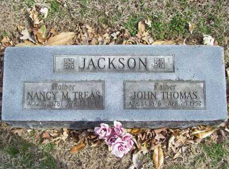 TREAS JACKSON, NANCY M. - Benton County, Arkansas | NANCY M. TREAS JACKSON - Arkansas Gravestone Photos