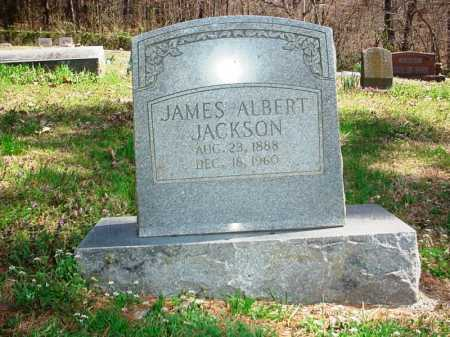 JACKSON, JAMES ALBERT - Benton County, Arkansas | JAMES ALBERT JACKSON - Arkansas Gravestone Photos