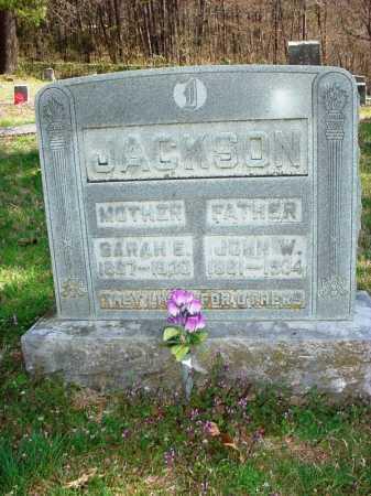 JACKSON, SARAH E. - Benton County, Arkansas | SARAH E. JACKSON - Arkansas Gravestone Photos
