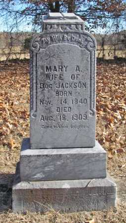 JACKSON, MARY A - Benton County, Arkansas | MARY A JACKSON - Arkansas Gravestone Photos