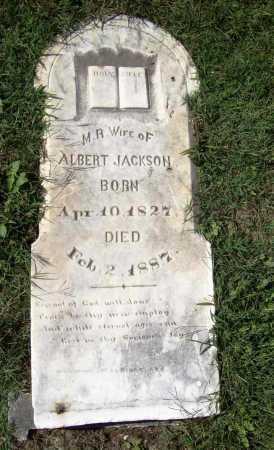 JACKSON, M. R. - Benton County, Arkansas | M. R. JACKSON - Arkansas Gravestone Photos