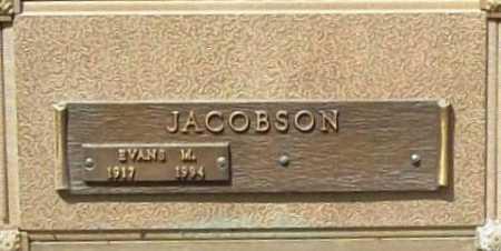 JACOBSON, EVANS M. - Benton County, Arkansas | EVANS M. JACOBSON - Arkansas Gravestone Photos