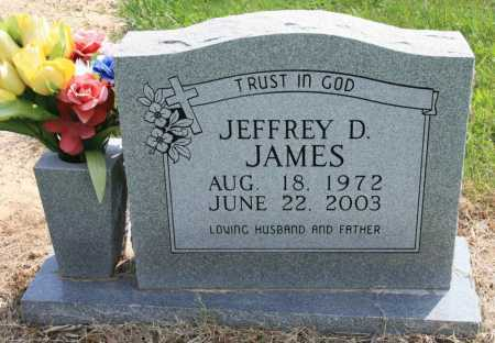 JAMES, JEFFREY D. - Benton County, Arkansas | JEFFREY D. JAMES - Arkansas Gravestone Photos