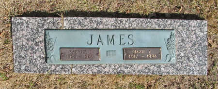 JAMES, HAZEL A - Benton County, Arkansas | HAZEL A JAMES - Arkansas Gravestone Photos
