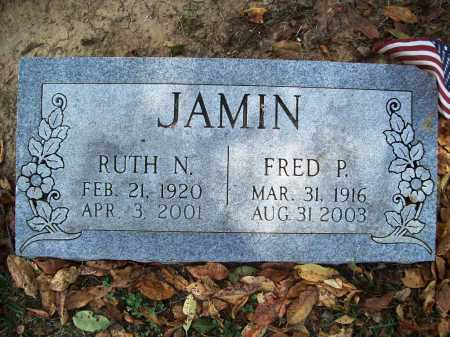 JAMIN, FRED P. - Benton County, Arkansas | FRED P. JAMIN - Arkansas Gravestone Photos