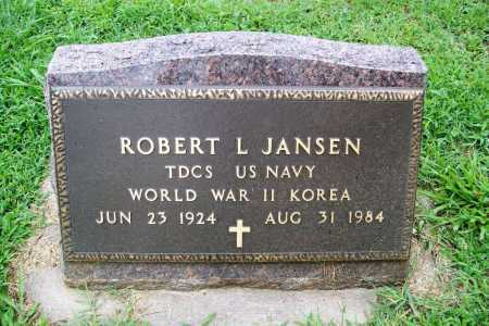 JANSEN (VETERAN 2 WARS), ROBERT L. - Benton County, Arkansas | ROBERT L. JANSEN (VETERAN 2 WARS) - Arkansas Gravestone Photos