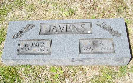 JAVENS, HOMER - Benton County, Arkansas | HOMER JAVENS - Arkansas Gravestone Photos