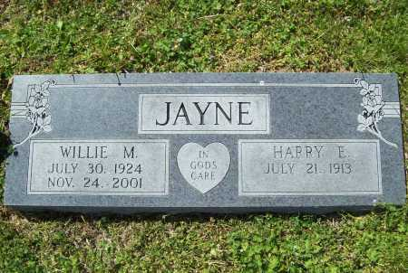 JAYNE, HARRY ERNEST - Benton County, Arkansas | HARRY ERNEST JAYNE - Arkansas Gravestone Photos