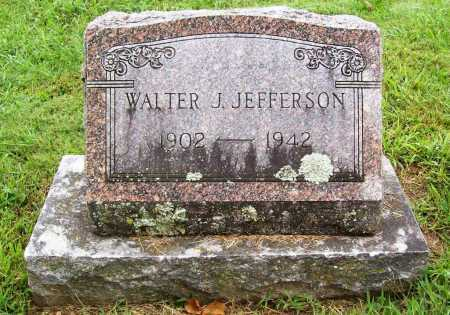 JEFFERSON, WALTER J. - Benton County, Arkansas | WALTER J. JEFFERSON - Arkansas Gravestone Photos