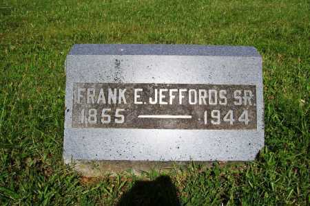 JEFFORDS, FRANK E. SR. - Benton County, Arkansas | FRANK E. SR. JEFFORDS - Arkansas Gravestone Photos