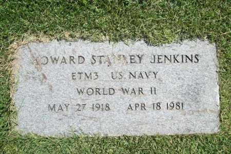 JENKINS (VETERAN WWII), HOWARD STANLEY - Benton County, Arkansas | HOWARD STANLEY JENKINS (VETERAN WWII) - Arkansas Gravestone Photos