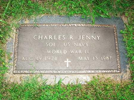 JENNY (VETERAN WWII), CHARLES R. - Benton County, Arkansas | CHARLES R. JENNY (VETERAN WWII) - Arkansas Gravestone Photos