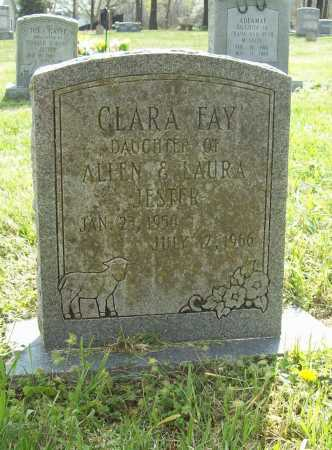 JESTER, CLARA FAY - Benton County, Arkansas | CLARA FAY JESTER - Arkansas Gravestone Photos
