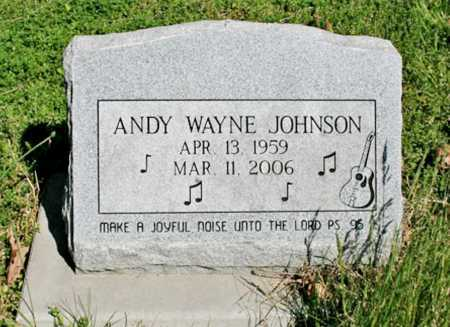 "JOHNSON, ANDREW ""ANDY"" WAYNE - Benton County, Arkansas 