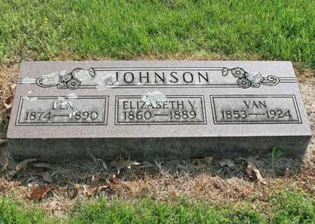 JOHNSON, VAN - Benton County, Arkansas | VAN JOHNSON - Arkansas Gravestone Photos