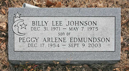 JOHNSON, BILLY LEE - Benton County, Arkansas | BILLY LEE JOHNSON - Arkansas Gravestone Photos
